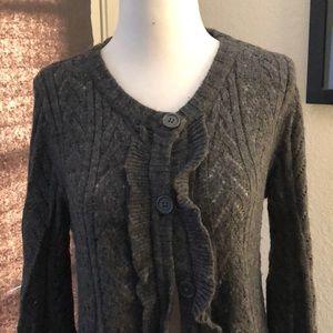 Gap oversized knit cardigan